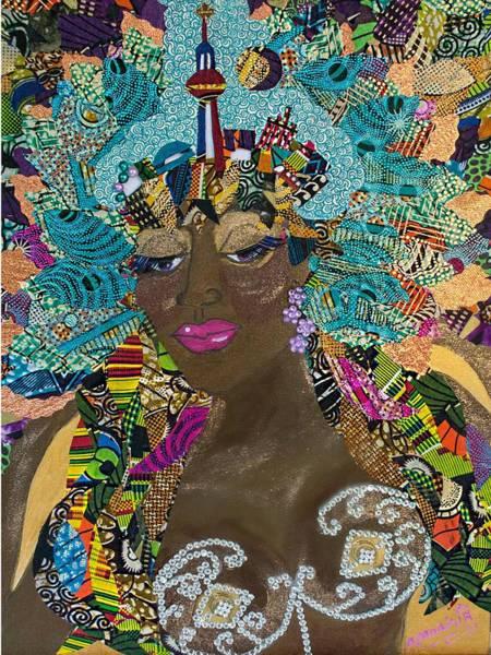 Tapestry - Textile - Tdot Caribana by Apanaki Temitayo M