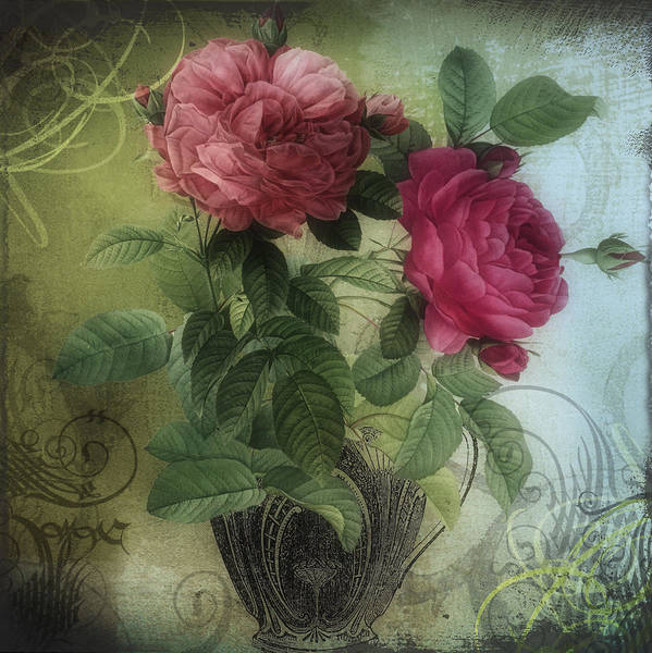 Teacup Painting - Tea And Roses I by Mindy Sommers