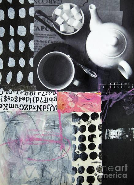 Wall Art - Mixed Media - Tea At Garcon by Elena Nosyreva