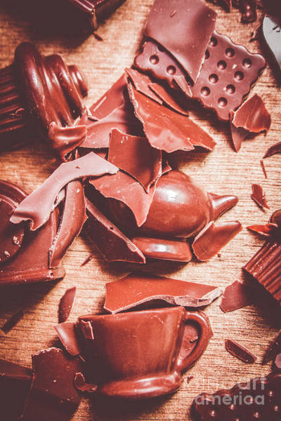 Chocolate Wall Art - Photograph - Tea Break  by Jorgo Photography - Wall Art Gallery