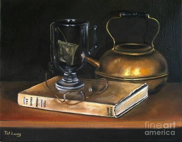 Wall Art - Painting - Tea Break by Patricia Lang