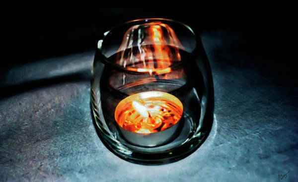 Photograph - Tea Candle by Gina O'Brien
