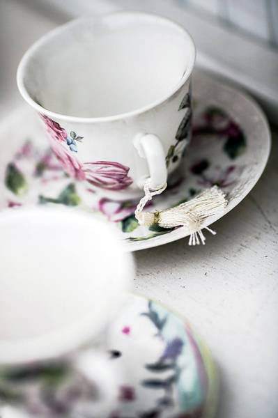 Wall Art - Photograph - Tea Cups #4 by Rebecca Cozart