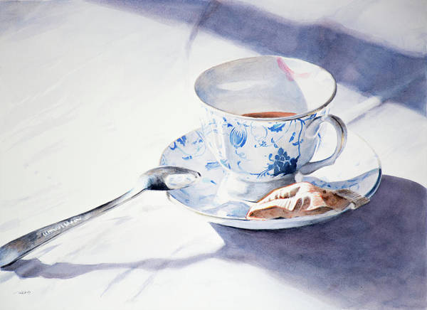 Painting - Tea For One by Christopher Reid