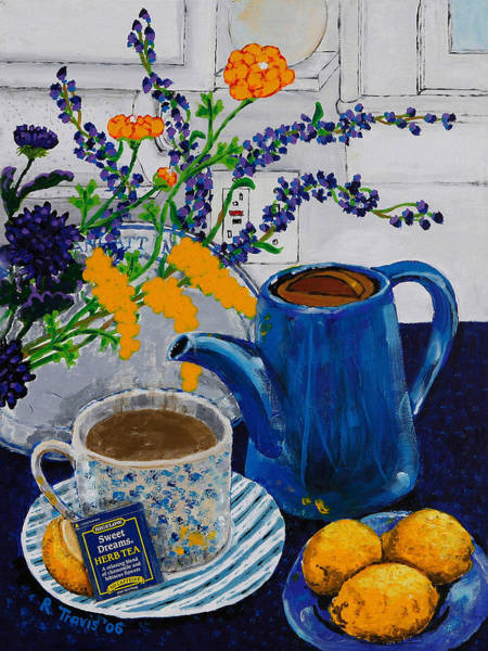 Wall Art - Painting - Tea For Thee by Rich Travis