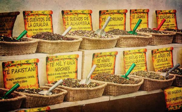 Wall Art - Photograph - Tea In Seville Spain by Joan Carroll