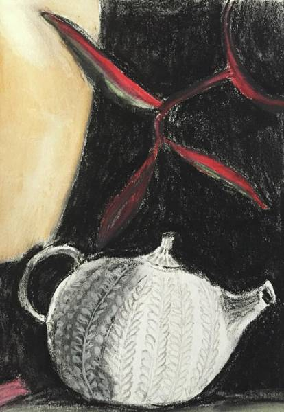 Painting - Tea Pot by Cherylene Henderson