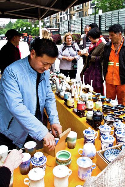Photograph - Tea Pots For Sale by George Taylor