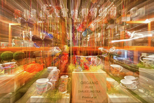 Photograph - Tea Store Abstract by Stuart Litoff