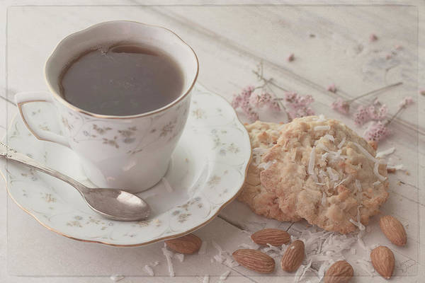 Photograph - Tea Time 8077 by Teresa Wilson