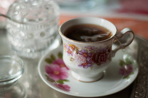 Photograph - Tea Time At Grandmothers by Miguel Winterpacht