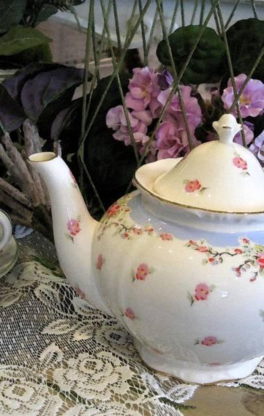 Photograph - Tea Time by Carolyn Jacob