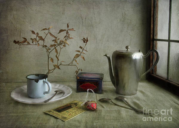 Time Frame Photograph - Tea Time by Elena Nosyreva