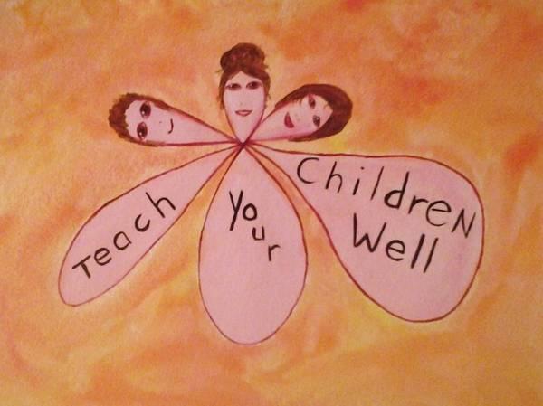 I Phone Case Mixed Media - Teach Your Children Well by Tonya Merrick
