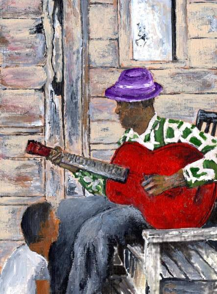 Painting - Teaching Jimi by Joe Dagher