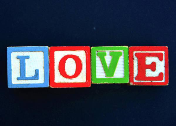 Word Play Photograph - Teaching Love by David Lee Thompson