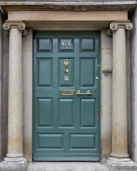 Photograph - Teal Door In Dublin by Georgia Fowler