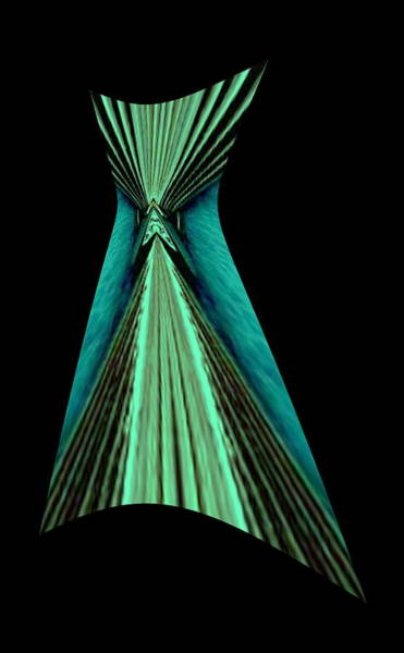 Digital Art - Teal Dress by Mary Russell