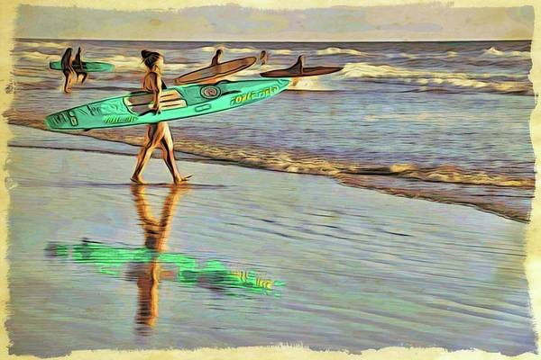 Photograph - Teal Reflections by Alice Gipson