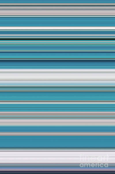 Photograph - Teal Lines by Tim Gainey