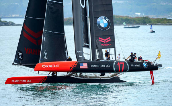 Ac45 Photograph - Team Oracle by Chris Beard