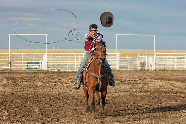 Wall Art - Photograph - Team Roper by Todd Klassy