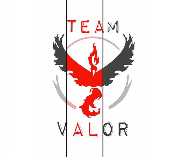 Digital Art - Team Valor by Marianna Mills