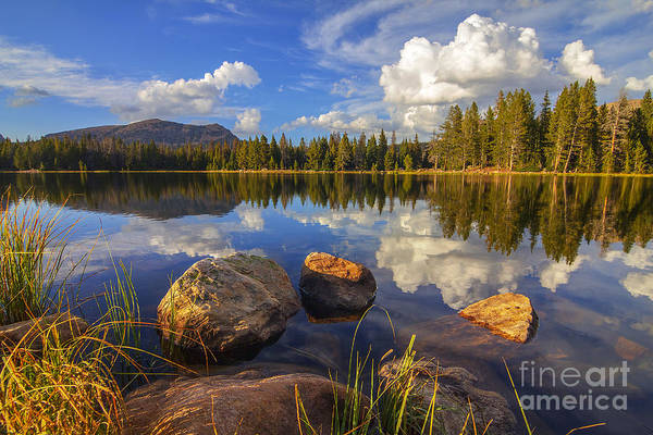 Photograph - Teapot Lake by Spencer Baugh