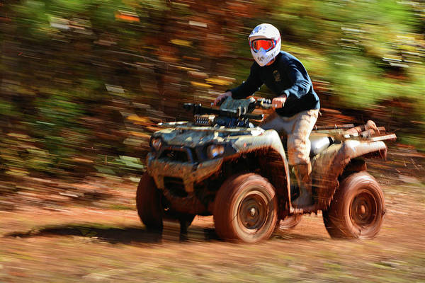 Four Wheeler Photograph - Tearin It Up by Ben Prepelka