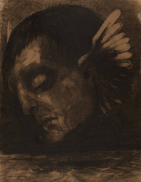 Painting - Tears  by Odilon Redon