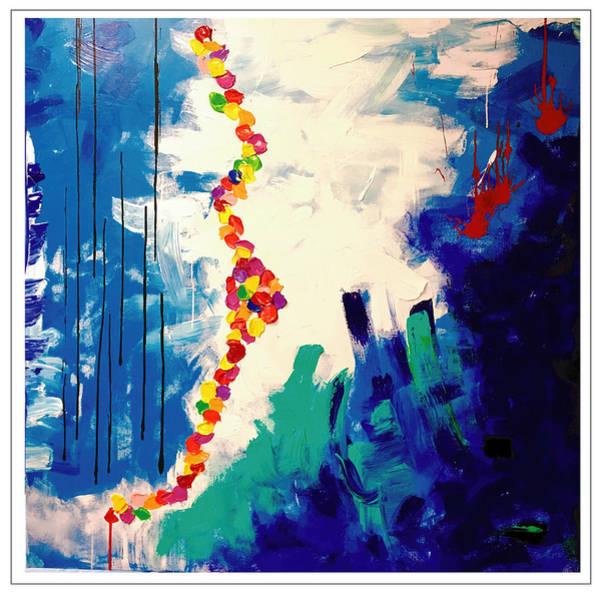 Wall Art - Painting - Tears Of A Clown by Mac Worthington