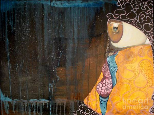 Wall Art - Painting - Tears Of Life by Victoria Dietz