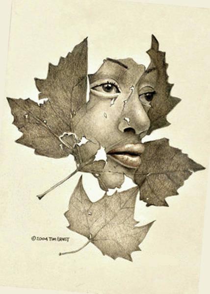 Digital Art - Tears by Tim Ernst