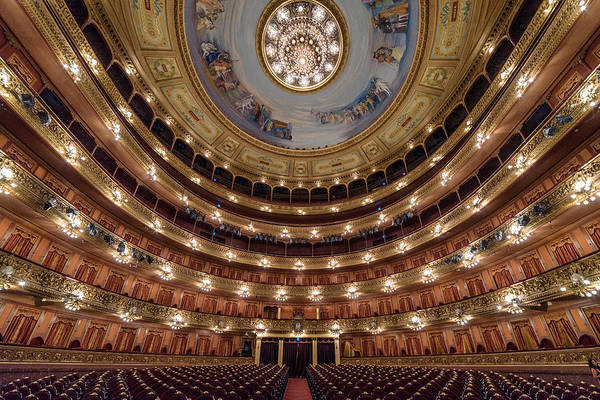 Photograph - Teatro Colon Performers View by Randy Scherkenbach