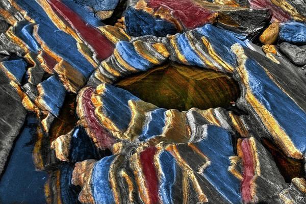 Photograph - Technicolor Rockform by Wayne King