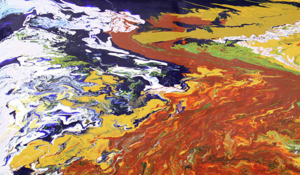 Painting - Tectonic by Ralph White