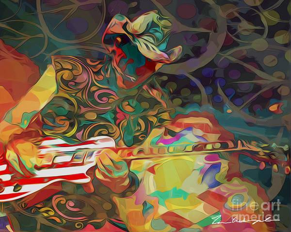 Digital Art - Ted Nugent by Tim Wemple