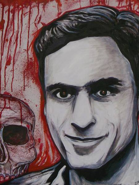 Ted Bundy Painting - Ted by Sam Hane