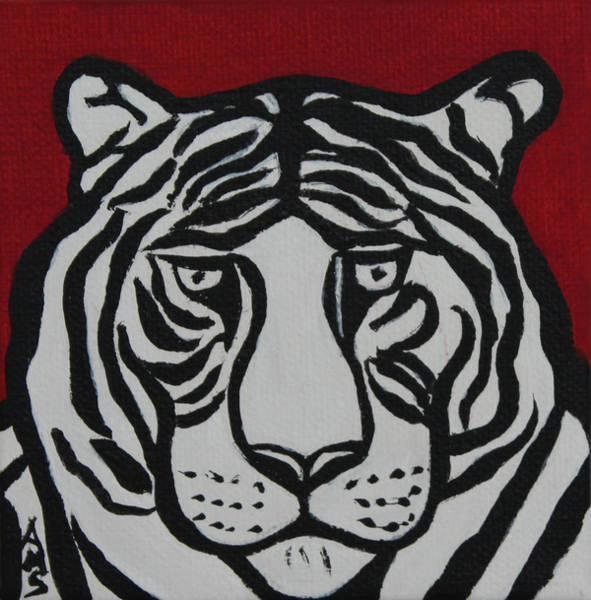 Painting - Ted Tiger by Annette M Stevenson