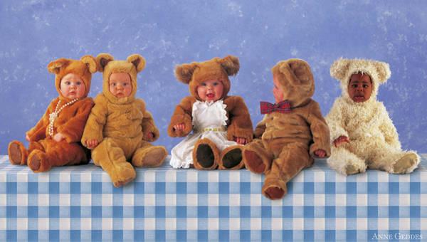 Wall Art - Photograph - Teddy Bears Picnic by Anne Geddes