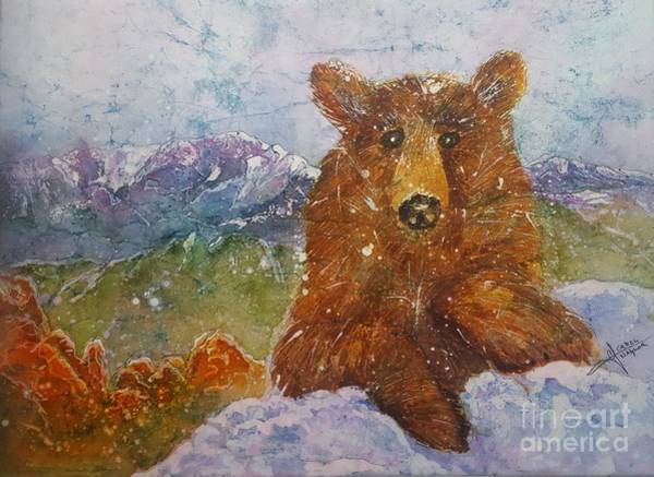 Painting - Teddy Wakes Up In The Most Desireable City In The Nation by Carol Losinski Naylor