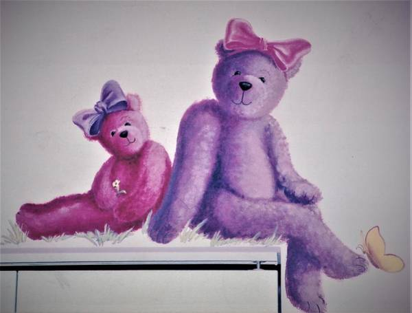 Painting - Teddy's Day by Suzn Smith