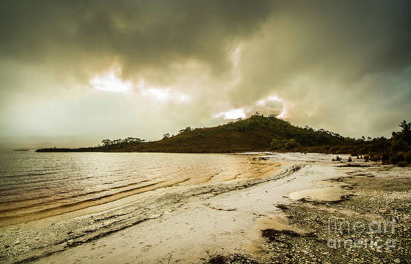 Location Photograph - Teds Beach At Dusk by Jorgo Photography - Wall Art Gallery