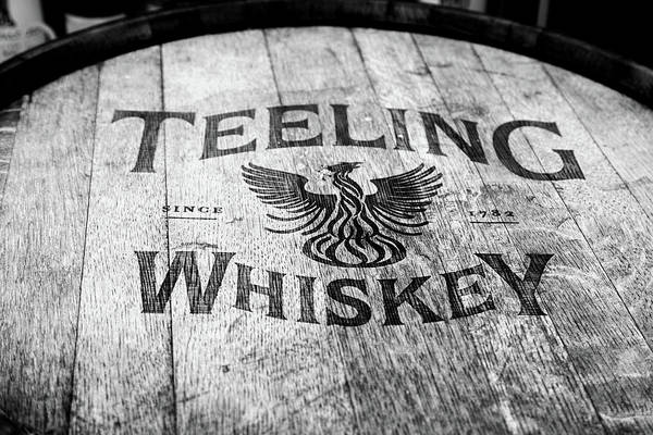 Irish Whiskey Photograph - Teeling Whiskey Barrel by Georgia Fowler