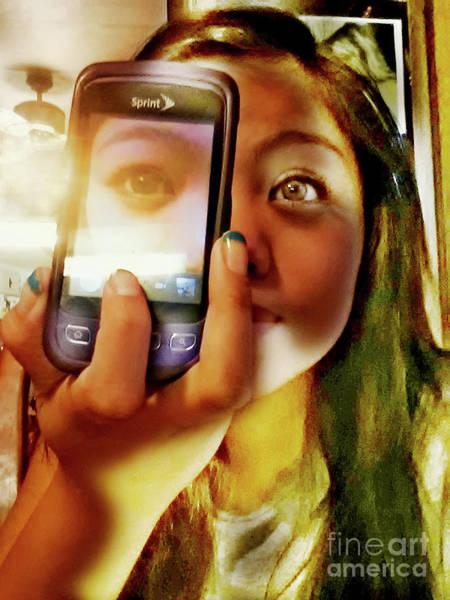 Photograph - Teenage Cellphone by Joe Lach