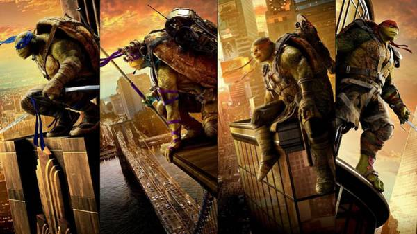 Wall Art - Digital Art - Teenage Mutant Ninja Turtles Out Of The Shadows by Movie Poster Prints