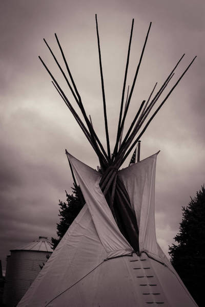 Photograph - Teepee by Sue Conwell