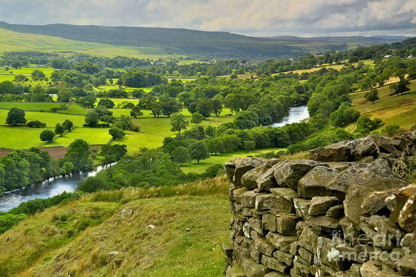 Photograph - Teesdale Countryside by Martyn Arnold