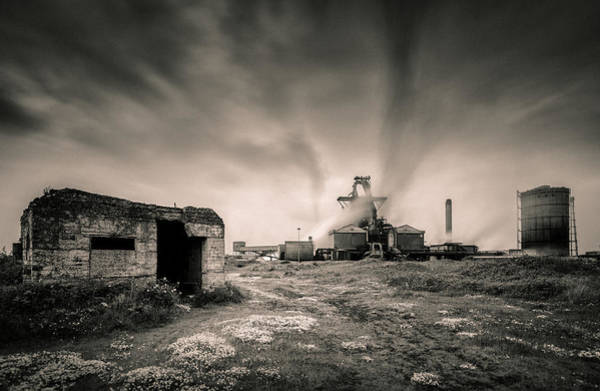 Manufacturing Plant Wall Art - Photograph - Teesside Steelworks 2 by Dave Bowman