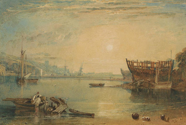 Painting - Teignmouth Devonshire by Joseph Mallord William Turner